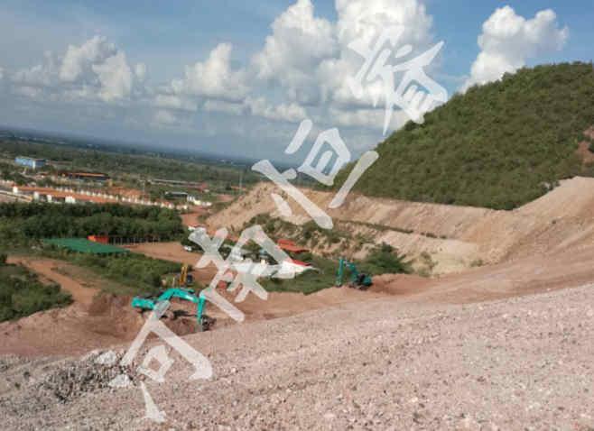 路堑边坡示例